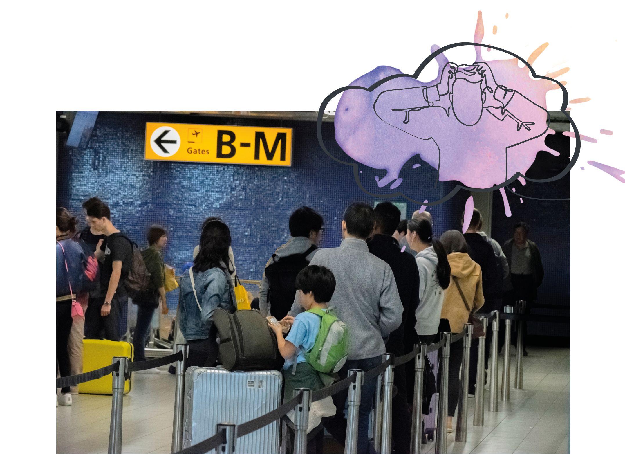 KLM – Onderzoeken reisgedrag bij verstoringen
