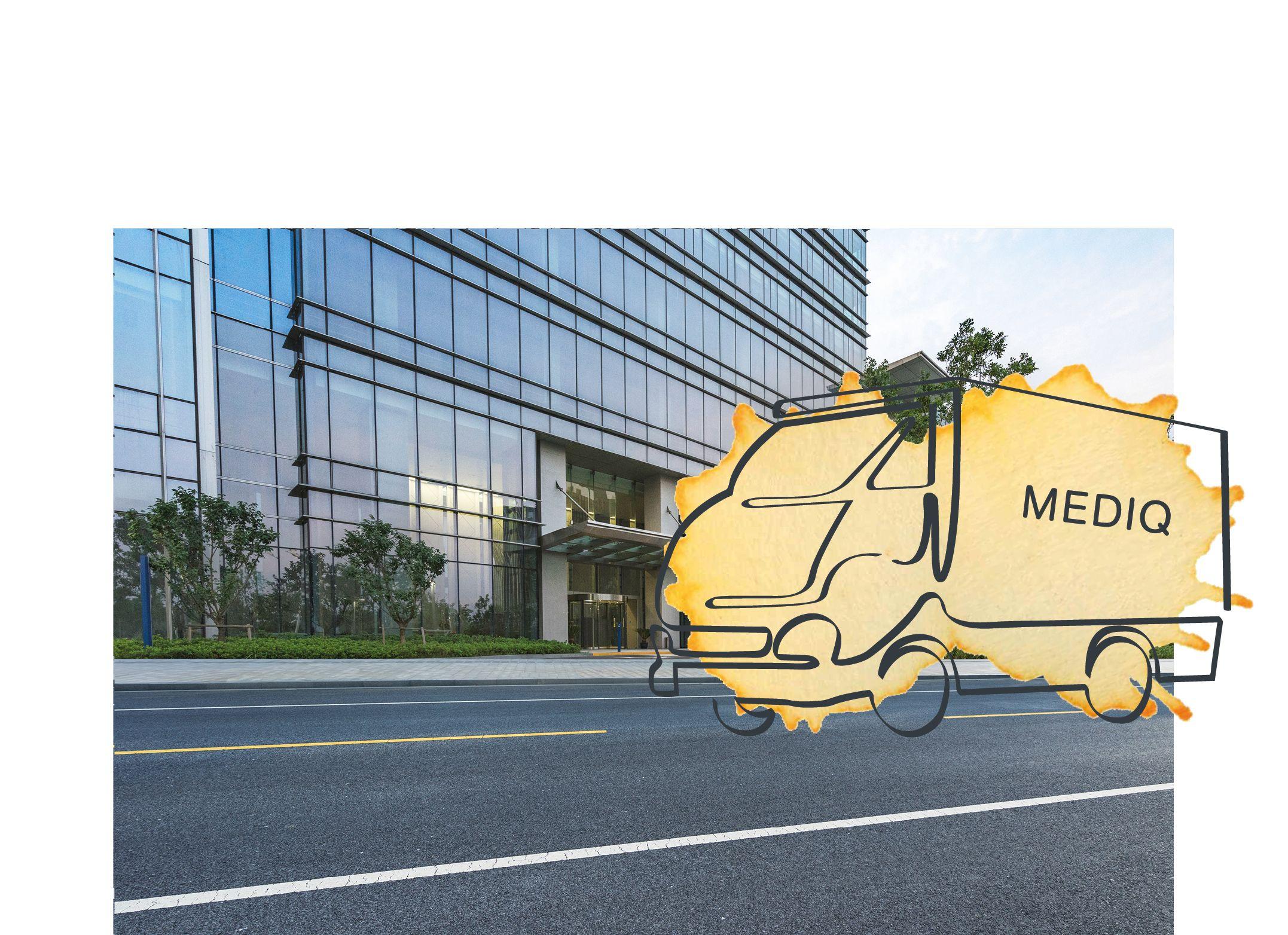 Mediq Medeco – Dienstenontwerp bestellingen
